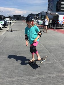 Learning to Skateboard