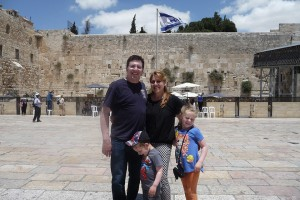 At the Kotel, Jerusalem, Israel